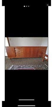 Sideboard Kommode 60er Jahre massiv