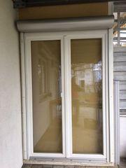 Terassentüre Balkontüre Zweiflüglig Holz 150x230m
