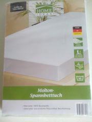 Molton Spannbetttuch 140x200 cm