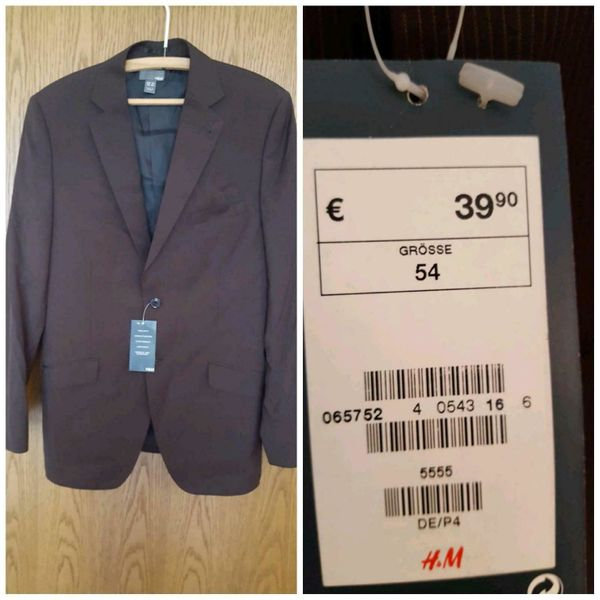 NEU* Sakko von H&M in Hamburg Herrenbekleidung kaufen und