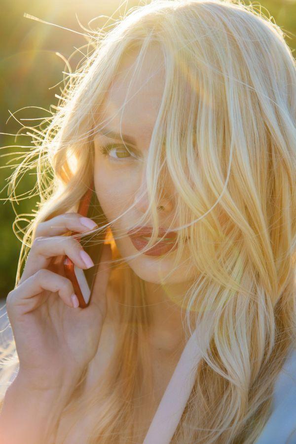 Blonder Engel 21 Jahre scharf