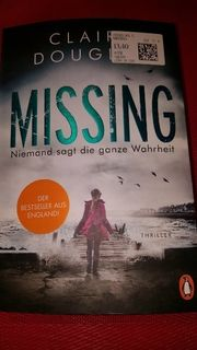 Neues Buch Missing Niemand sagt