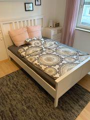 Hemnes Ikea Bett 140x200 cm