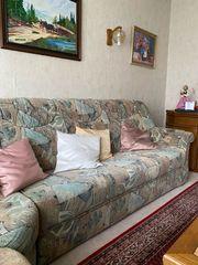 Schöne Couch inkl Sessel zu