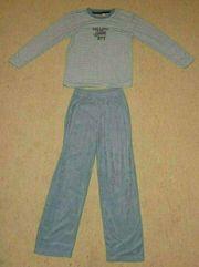 Flausch-Pyjama lang Gr 140