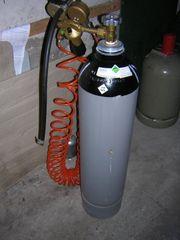 Reifengas Stickstoffflasche