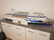 AIDA modellschiff groß fertig RC