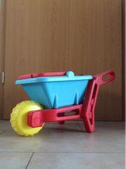 Schubkarre und Sandspielzeug 13-Teilung