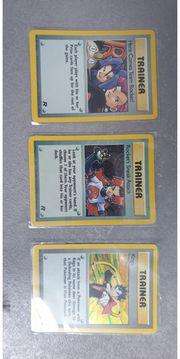 Pokemon Karten 3x Holo