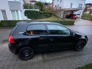 VW Golf 5 schwarz 75