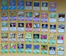 Sonstige Sammlungen - Pokemon Karten verschiedene Editionen