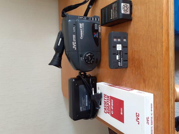 Videokamera JVC komplett mit Tasche