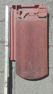 Dachziegel Biberschwanz auf Paletten gesetzt