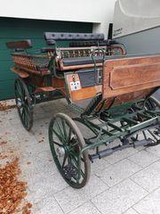 Kutsche Linzer Wagonette Neuwertig