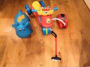 Kombi verschiedener Spielzeuge