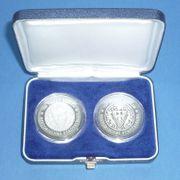 2 Gedenkmünzen DDR 20 Mark