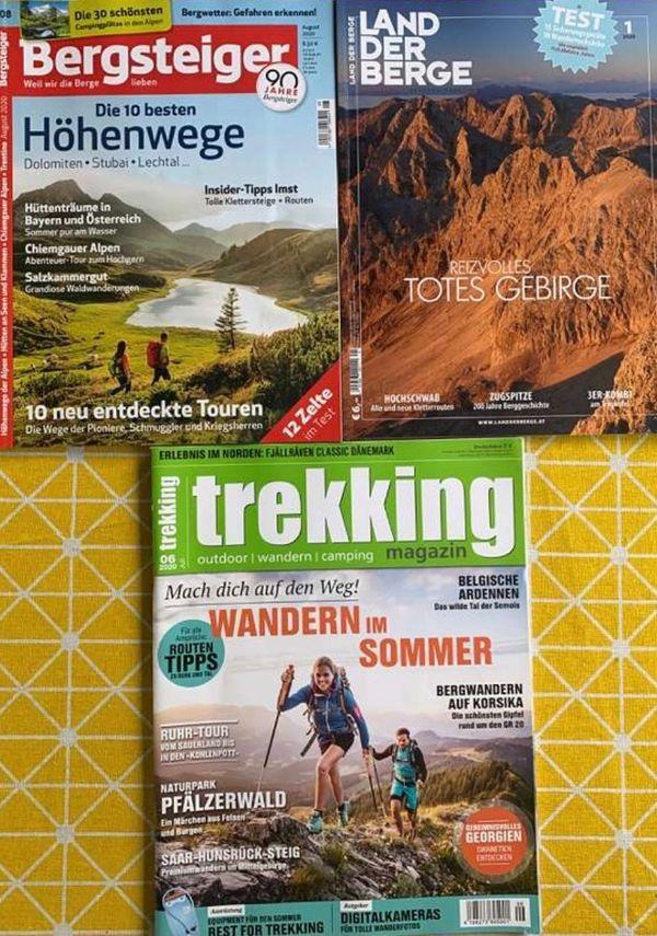 Verschiedene Magazine