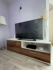 TV Board in weiß zum