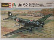 Revell H-2018 Ju 52 Sanitätsflugzeug -