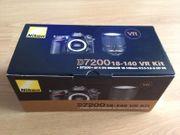 Nikon D7200 18-140mm VR Kit