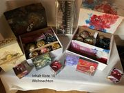 Flohmarkt Kiste 10 Thema Weihnachten