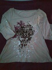 Langarmshirt mit coolem Front-Print