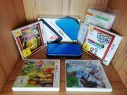 Nintendo 3DS XL Blau OVP