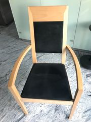 4 Stühle in Buche