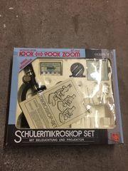 Mikroskop Set Schülermikroskop im Karton