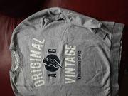 Sweatshirt grau gr 170 176