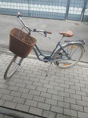 Verkaufe gebrauchtes Hollandrad nicht oft