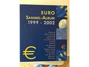 Euro Sammel-Album 1999 - 2002 mit