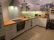 Komplette Einbauküche mit Geräten - nur