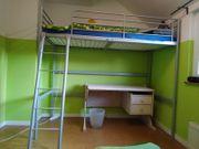 Hochbett Ikea Tromsö 90x200 cm