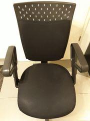 Bürostuhl schwarz vielfach verstellbar