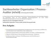 Sachbearbeiter Organisation Prozess-Auditor m w