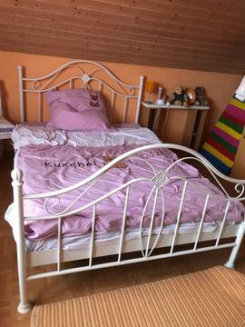Metallbett: Kleinanzeigen aus Bürstadt - Rubrik Betten