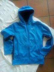 Nike Kapuzenjacke blau Größe 170