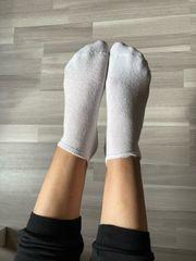 Sexy getragene gebrauchte Socken Söckchen