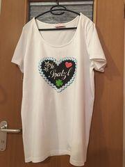 Sheego Style Oktoberfest T-Shirt Damen