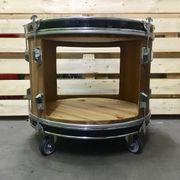 Upcycling Coffeetable Designertisch aus Bassdrum