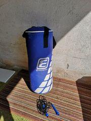 Boxsack und Springseil nie verwendet