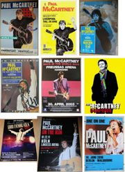 47x originale Paul McCartney Konzert