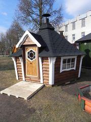 Grillhütte Gartenhaus Grillanlage 9 2m²
