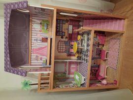 Puppen - Barbie Puppenhaus