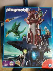 Playmobil Drachenburg Drachenturm Riesendrache