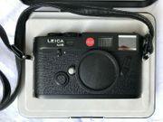 LEICA M6 schwarz inkl Box