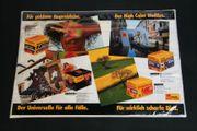 Orig Thekenmatte Thekenunterlage-Displaymatte Kodak Filme