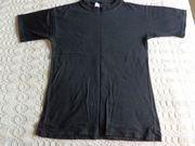 Shirt T-Shirt Gr 152 schwarz