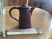 Kleine Alte Kaffee oder Teekanne